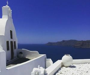 aesthetic, Greece, and sky image