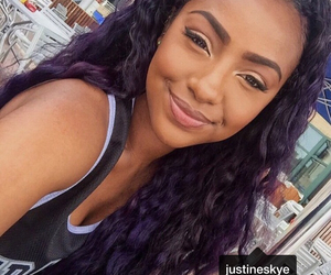 beautiful, funny, and purple hair image