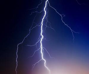 awesome, nature, and lightning image