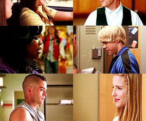 couples, glee, and quick image