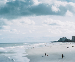 photography, beach, and ocean image