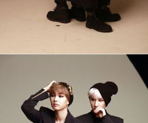 boyfriend, jo youngmin, and lee jeongmin image