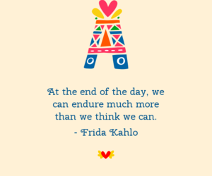 frida kahlo and inspirational quotes image