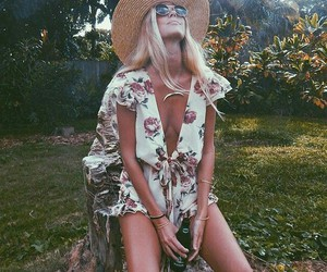 summer, hat, and fashion image