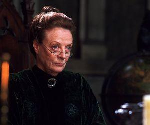 harry potter, professor mcgonagall, and hogwarts image