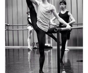 boy, ballet, and dance image
