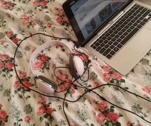 boho, home, and laptop image