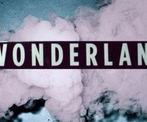 wonderland, pink, and grunge image