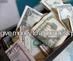 bucket list, money, and help image