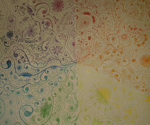 color, crayon, and design image
