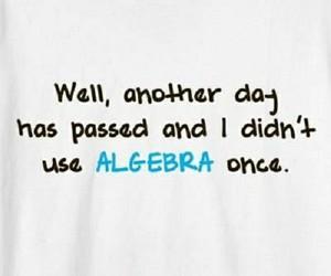algebra, funny, and lol image