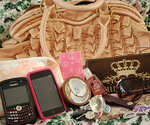blackberry, iphone, and juicy couture image