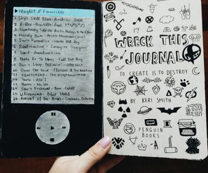 ideas and wreck this journal image