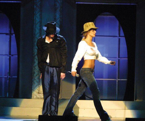 britney spears, michael jackson, and king of pop image