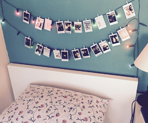 bed, creative, and fuji instax image