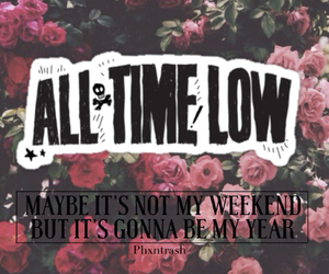 all time low, atl, and grunge image