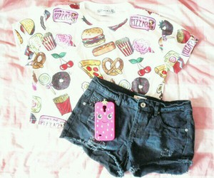 case, food, and outfits image
