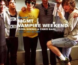 MGMT and vampire weekend image