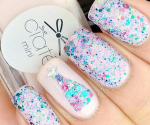 colourful, girls, and nail image