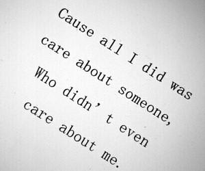 sad, care, and emotions image