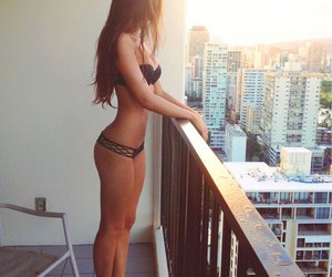 fitness, girl, and summer image