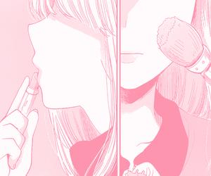 pink, manga, and girl image