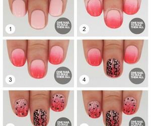 nails, fish, and nail art image