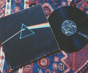 music, Pink Floyd, and vinyl image