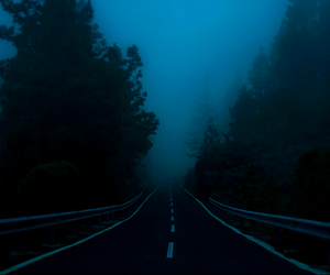 grunge, dark, and road image