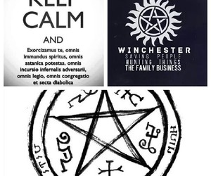 crowley, dean, and demons image