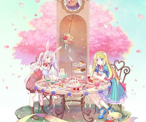 alice in wonderland and cute image