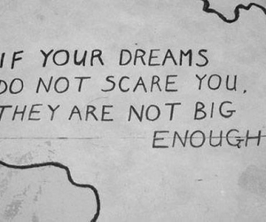 Dream, quote, and big image