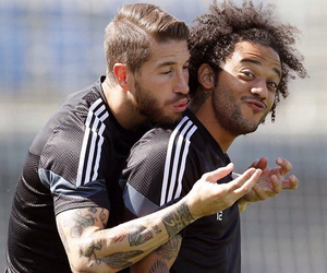 real madrid, ramos, and marcelo image