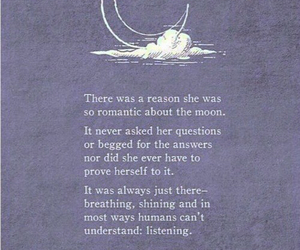 moon, quotes, and poem image