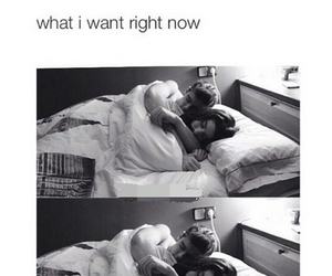 couple, bed, and forever image