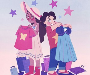 steven universe and connie image