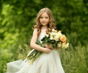 flower and child image