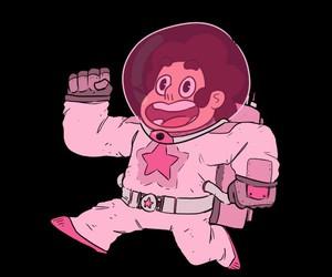 astronaut, galaxy, and gem image