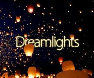 Dream, lights, and night image