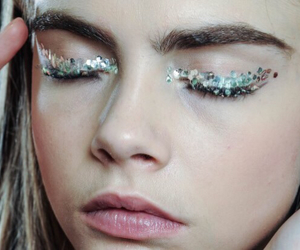 model, cara delevingne, and eyes image