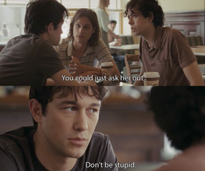 500 Days of Summer, boy, and quotes image