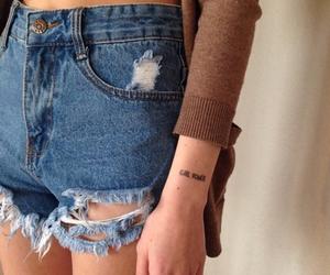 poder, tatuaje, and power girl image