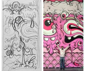 graffiti, street art, and buffmonster image