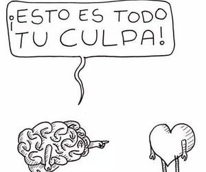 brain, corazon, and culpa image