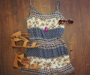 fashion, outfit, and rompers image