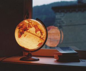 globe, light, and world image