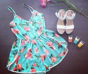 amazing, outfit, and sandals image