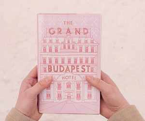 movie, pink, and the grand budapest hotel image