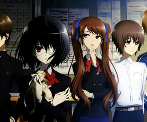 another, anime, and misaki image