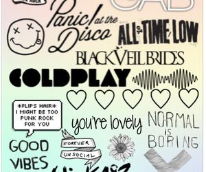 all time low, bands, and bye image